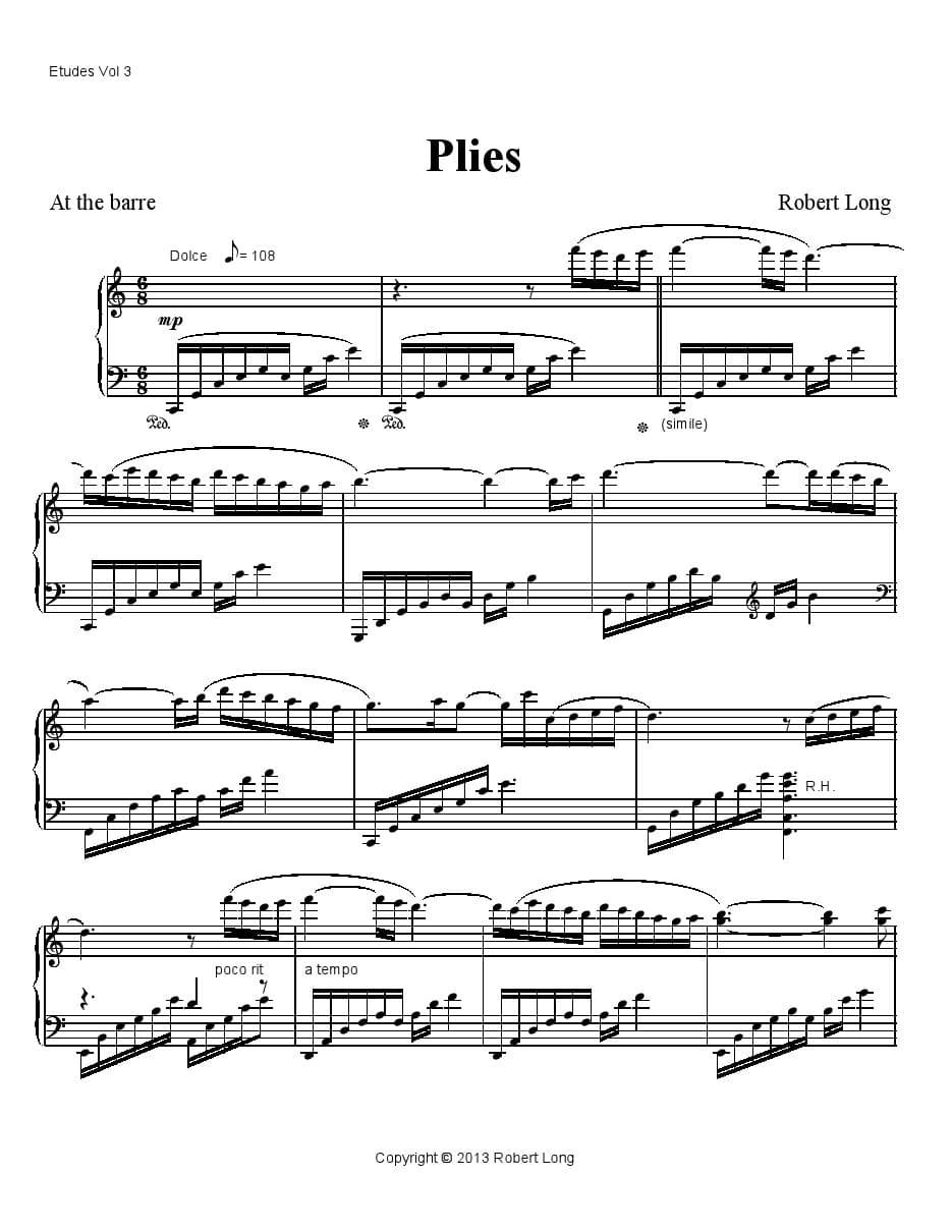 ballet class music for plies